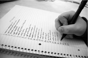 How to Write a Life List