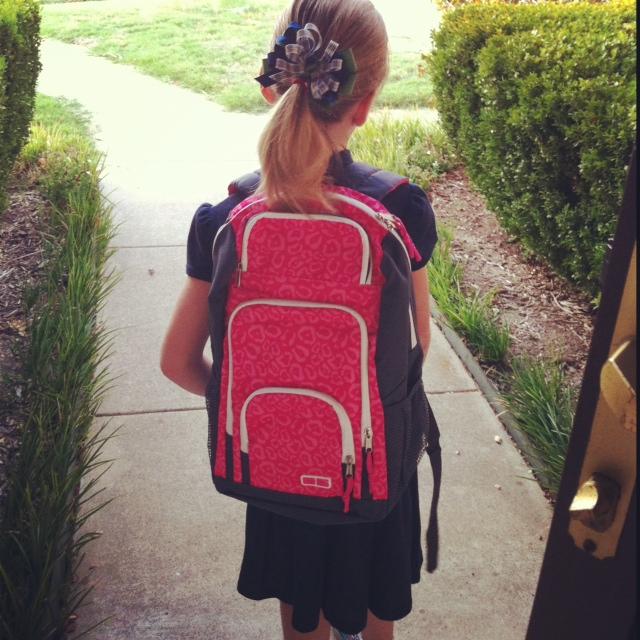 Gabby Starts 4th Grade