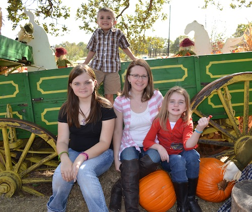 Perrin Family at Pumpkin Patch