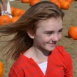 Gabby at Pumpkin Patch 2011