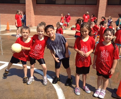 Kindergarten Field Day