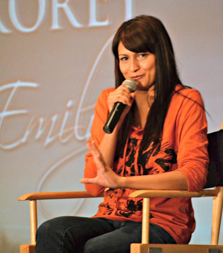 Tinsel Korey, Sam's Girlfriend in Twilight, New Moon, Twilight Saga, Wolf Girl, Breaking Dawn Part 2 Interview