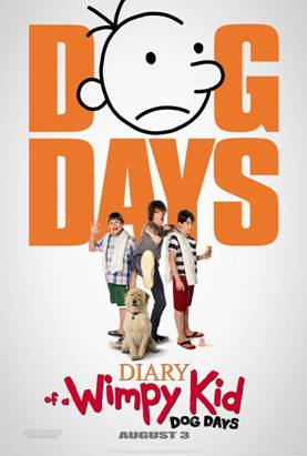 Mom Reviews Diary of a Wimpy Kid Dog Days