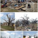 tornado collage