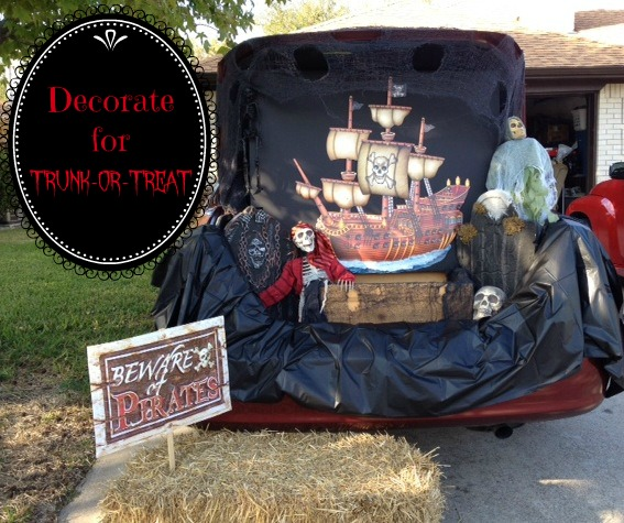 How To Decorate For Trunk Or Treat MommaDJane
