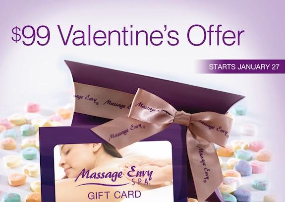 Massage Envy - Valentines Promo2014