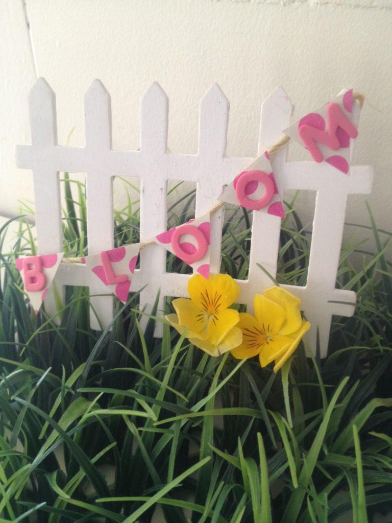 Fairy Garden Fence DIY