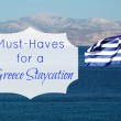 Greece Staycation