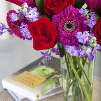 """The Best of Me"" bouquet & Paperback Giveaway Approx Valued $90"