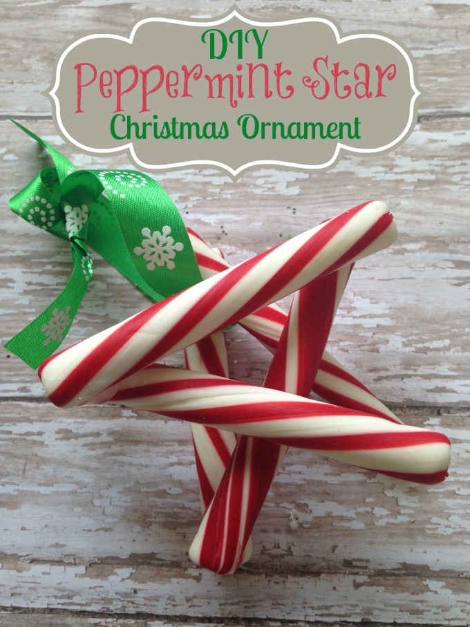 Peppermint Star Christmas Ornament by Momma DJane