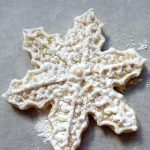 Frozen themed snowflake cookie recipe