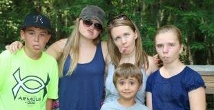 Family Funny Face Photos