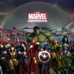 Marvel Characters in Virtual Experience