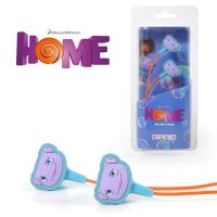 DreamWorks Home Earbuds with Oh character