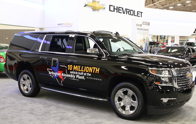 GM Arlington 10 millionth vehicle