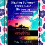 Sizzling Summer Cash Giveaway – $1000!