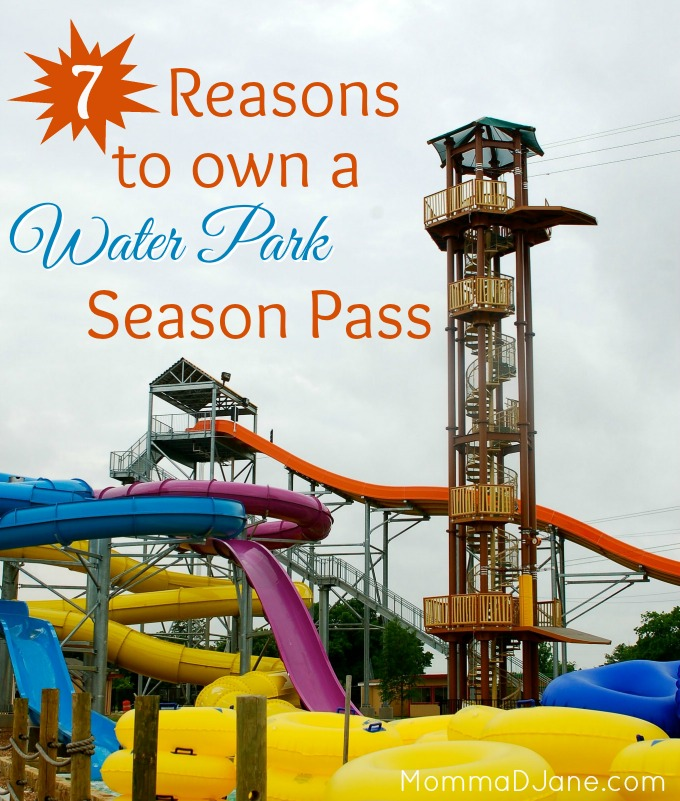 Falls Season Pass a Water Park Season Pass