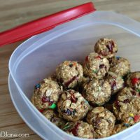 Energy Balls for Road Trip