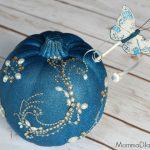 Painted Cinderella Pumpkin