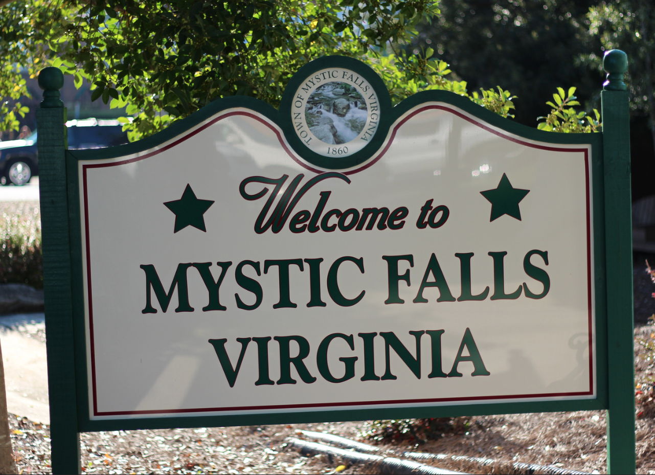 Mystic Falls filming location for The Vampire Diaries