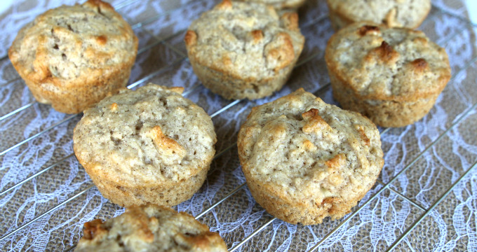 Homemade Apple Muffins