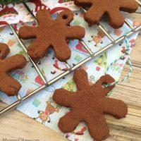Homemade Cinnamon Snowflake Ornament