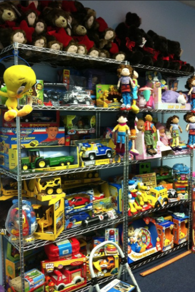 Make-a-Wish Foundation Toy Room Makeover