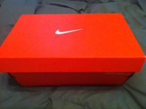 Nike Shoe Box used for Operation Christmas Child