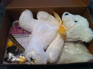 Stuffed Shoe Box for Operation Christmas Child