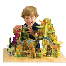Constructive Playthings, Dinosaur Park, Imagination, Learning, Play, Toys