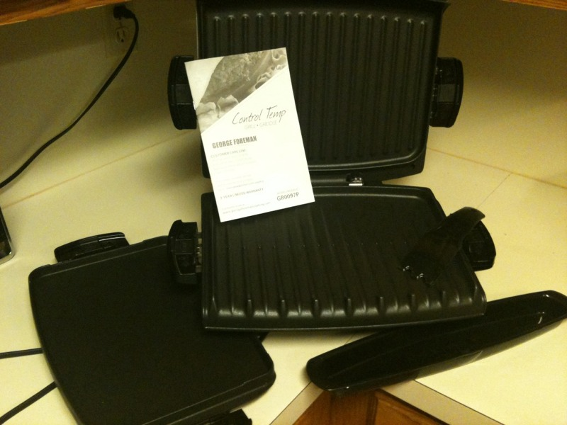 George Foreman Grill, Knock Out The Fat
