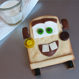 Disney, Cars 2, free printable, recipe, Tow Mater Cookies