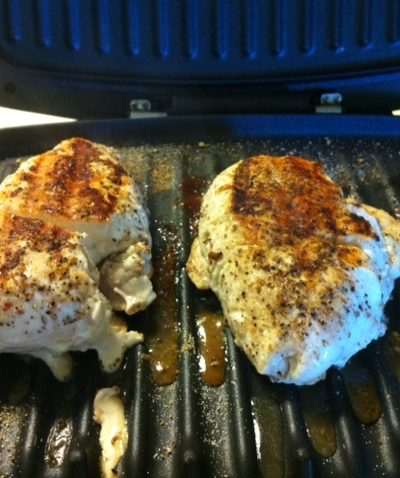 George Foreman, Knock Out The Fat, Grilling, Chicken