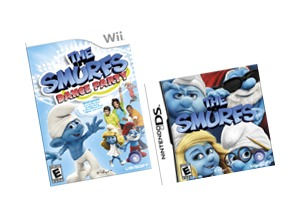 Smurf's Dance Party Wii Game