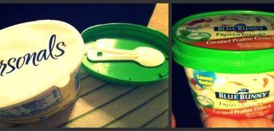 Blue Bunny Personals Ice Cream