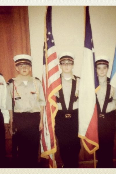 They Call Me T, JCC, Junior Cadet Corps, Color Guard