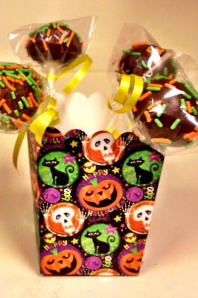 Halloween Cakepops for Cake Walk
