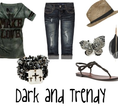 My Dark and Trendy Summer Style