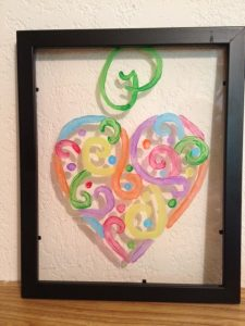 how to make stained glass diy project with kids life family joy