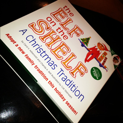 Elf On The Shelf – Our New Family Tradition