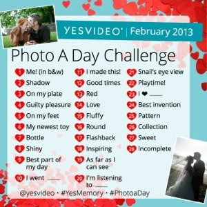February Photo-A-Day Challenge on Instagram