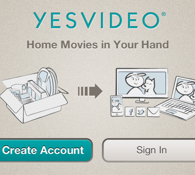 YesVideo Launched an iPhone App