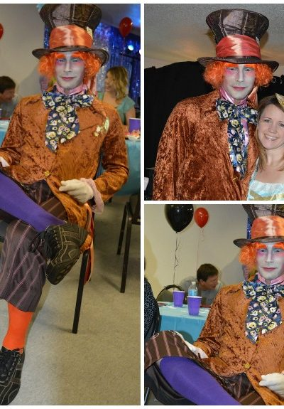 Mad Hatter Costume for Alice in Wonderland Themed Party