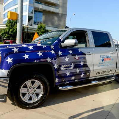 GMC Sierra Hashtag Challenge Benefitting Snowball Express Charity