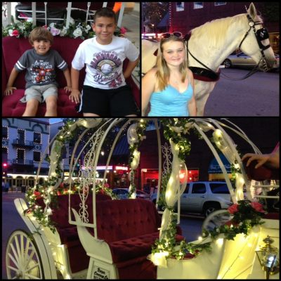 Horse Drawn Carriage Ride – Downtown Fort Worth
