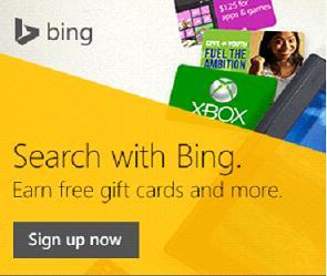 Earn Bing Rewards