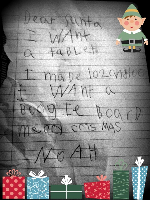 Santa Letter 2013