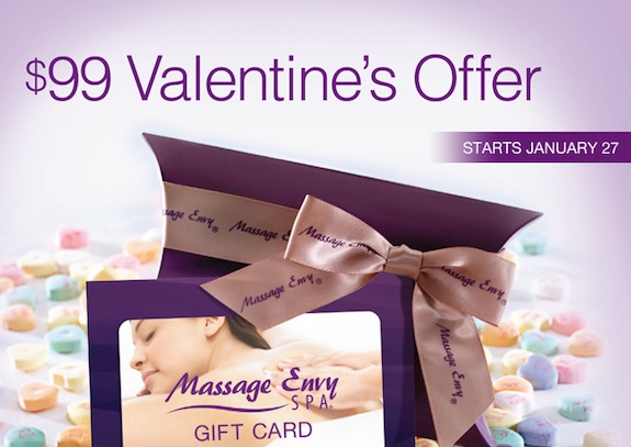 Massage Envy - Valentines Promo2014
