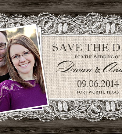 Sending Save the Dates – Wordless Wednesday