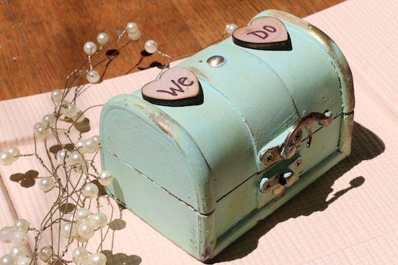 ringbearer chest for wedding rings